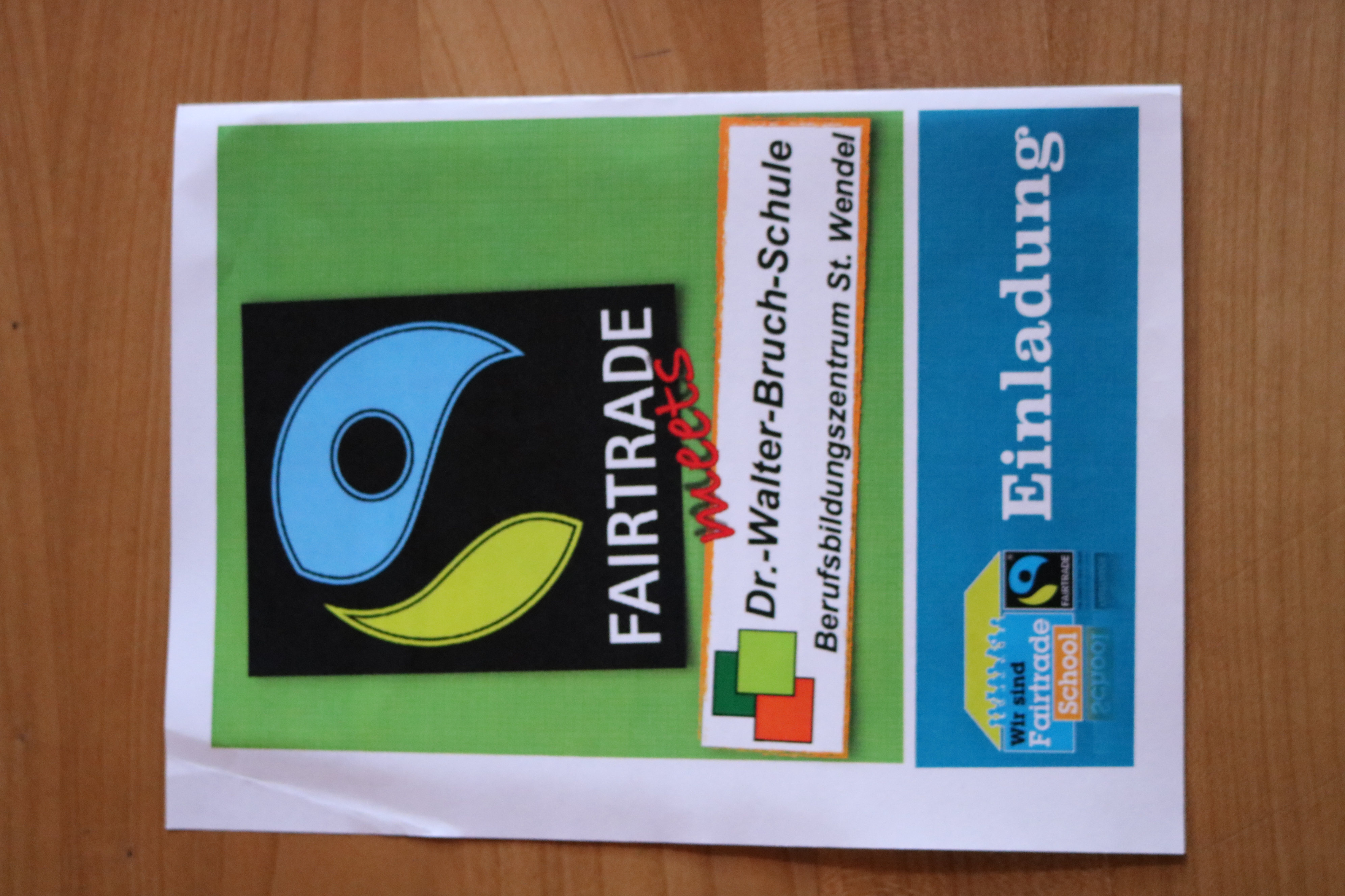 Fairtrade meets Dr. Walter Bruch Schule